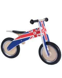 Kiddimoto Kurve 12-inch Balance Bike - Union Jack