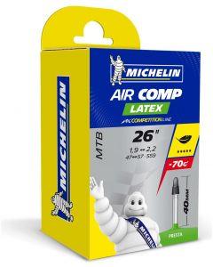 Michelin Aircomp Latex MTB 26-Inch Innertube