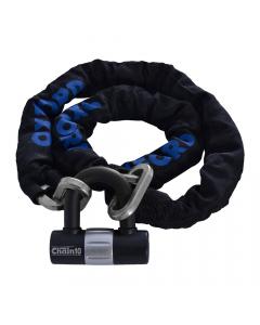 Oxford Chain10 1.4m Chain Lock and Mini Shackle