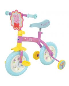 Peppa Pig 2-In-1 10-Inch Training Bike