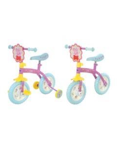 Peppa Pig 2-in-1 10-Inch 2019 Training Bike