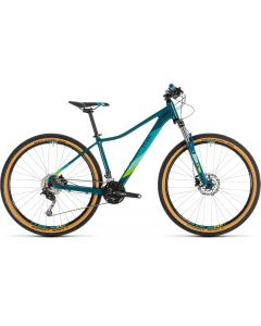 Cube Access WS Pro 2019 Womens Bike - Pine/Green