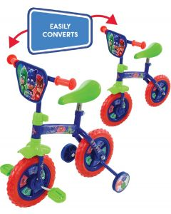 PJ Masks 2-in-1 10-Inch Training Bike