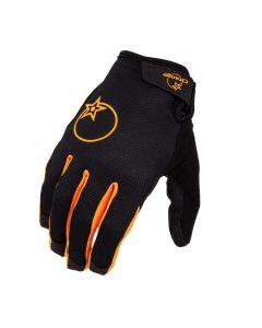 Orange Quantum Gloves