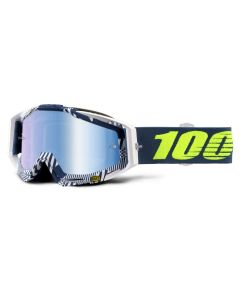 100% Racecraft Goggles - Eclipse - Mirror Blue Lens