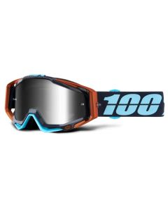 100% Racecraft Goggles - Ergono - Mirror Silver Lens