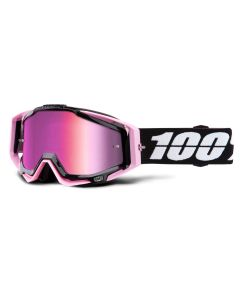 100% Racecraft Goggles - Floyd - Mirror Pink Lens