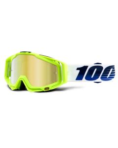 100% Racecraft Goggles - GP21 - Mirror Gold Lens