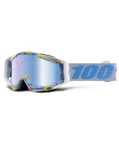 100% Racecraft Goggles - Hyperloop - Mirror Blue Lens