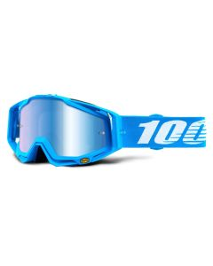 100% Racecraft Goggles - Roxburry - Mirror Blue Lens
