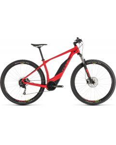 Cube Acid Hybrid ONE 500 29er 2019 Electric Bike - Black/Red