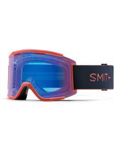 Smith Squad MTB XL 2019 Goggles - Red Rock/ChromaPop Contrast Rose Flash