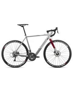 Orbea Gain D50 2019 Electric Bike - Grey/White/Red