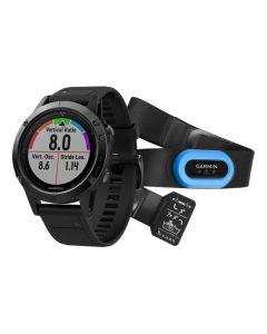 Garmin Fenix 5 Sapphire GPS Watch - Performer Bundle