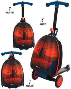 Spiderman 3-in-1 Scootin Suitcase