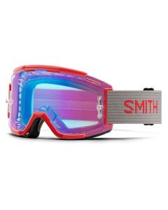 Smith Squad MTB 2018 Goggles - Rise Split/ChromaPop Contrast Rose Flash