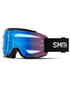 Smith Squad MTB Goggles - Black / ChromaPop Contrast Rose Flash