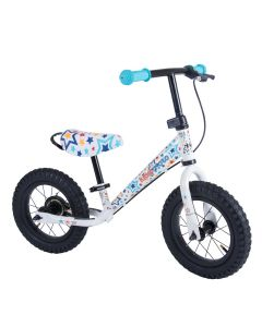 Kiddimoto Super Junior Max 12-inch Balance Bike - Stars