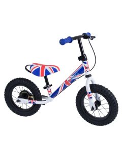 Kiddimoto Super Junior Max 12-inch Balance Bike - Union Jack