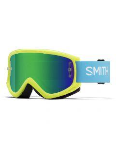 Smith Fuel V.1 Max M 2018 Goggles - Acid/Green Mirror