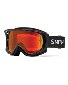 Smith Fuel V.2 2018 Goggles - Black/ChromaPop Everyday Red Mirror
