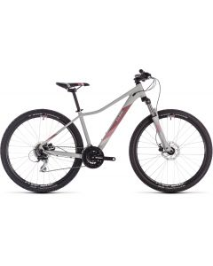 Cube Access WS EAZ 2019 Womens Bike - Grey/Rose