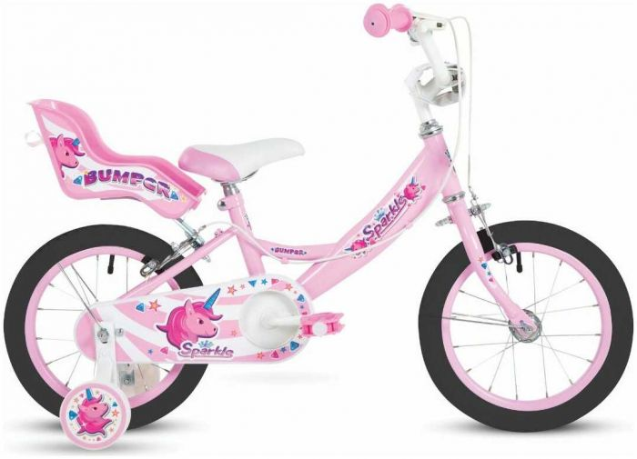 Bumper Sparkle 16-Inch Kids Bike