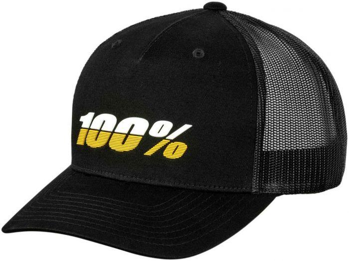 100% League X-Fit Snapback Cap