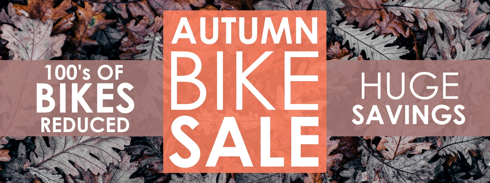 Autumn Bike Sale