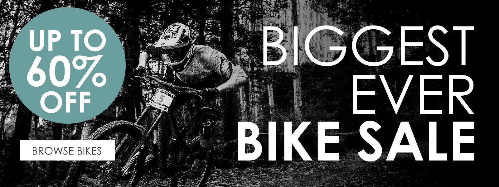 Biggest Ever Bike Sale